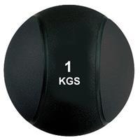 Virtufit Medicijnbal Pro - 1 kg - Rubber - Zwart
