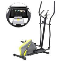 VidaXL Crosstrainer 10 kg roterende massa