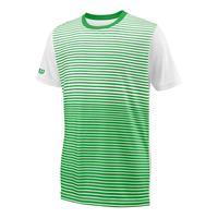 Wilson Team Striped Crew T-shirt Jongens