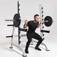 Halterbank / Squat Rack 9 standen -Belastbaar tot 300kg