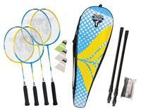 Talbottorro Badminton Set Family incl 2 jr + St. rackets