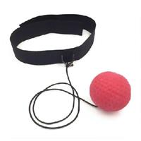 Legend Sports reflex headband zwart/rood