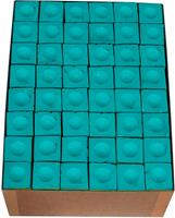 Triangle biljart krijt groen (144st.)