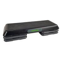 Tunturi stepbank Aerobic Power Step 10 tot 20 cm zwart