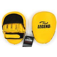 Legend Sports stootkussens Speed Power Impact geel/zwart