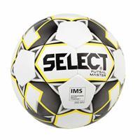 Select Voetbal Futsal Master Grain wit geel zwart 10434