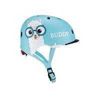 Globber helm Elite Lights /53 cm lichtblauw