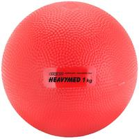 Gymnic Heavymed, 1.000 g, ø 12 cm, rood