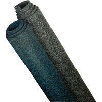 BSW Sportvloer Everroll, Zwart-Blauw, 6 mm