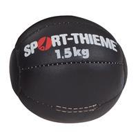 Sport-Thieme Medicine bal Zwart, 1,5 kg, ø 19 cm