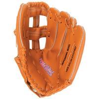 Midwest honkbal veldhandschoen junior 25 cm vinyl bruin