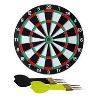 Dartbord 42 cm incl. 6 dartpijltjes Multi