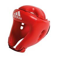 Adidas hoofdbeschermer boksen leer rood