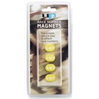 Ultimate Performance magneten voor startnummer geel 4 stuks