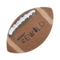 Waboba rugbybal Rewild 22,9 cm jute/rubber bruin
