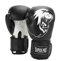 Super Pro bokshandschoenen Talent, Zwart-Wit