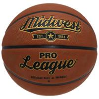 Midwest basketbal Pro League rubber/polyester oranje