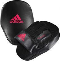 Adidas stootkussens Boxing Focus PU/foam zwart/rood 2 stuks