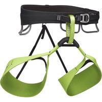 Black Diamond - Solution Harness-Honnold Edition - Klimgordel, groen/zwart