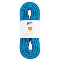 Petzl - Conga 8 mm - Prusiktouw, blauw/wit