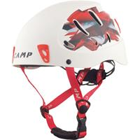 Camp - Armour - Klimhelm, wit/rood
