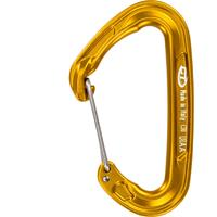 Climbing Technology - Fly-Weight Evo - Snapkarabiner, oranje/bruin