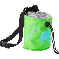 Edelrid - Kid's Chalk Bag Muffin - Pofzakje, groen/zwart