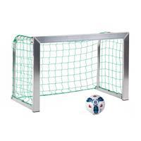 Sport-Thieme Minitraining doel, met opvouwbare netbeugels , Incl. net, groen (mw 10 cm), 1,20x0,80 m, diepte 0,70 m