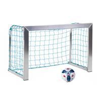 Sport-Thieme Minitraining doel, met opvouwbare netbeugels , Incl. net, blauw (mw 10 cm), 1,20x0,80 m, diepte 0,70 m