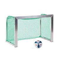 Sport-Thieme Minitraining doel, met opvouwbare netbeugels , Incl. net groen (mw 4,5 cm), 1,20x0,80 m, diepte 0,70 m