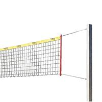 Sport-Thieme Beachvolleybal-installatie Stabil, Net met ommanteling, Zonder palenbeschermkussen