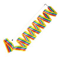 Sport-Thieme Gymnastieklinten Gymnastiekband regenboogkleuren, 6 m, wedstrijd