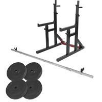 Multi Squat Rack 40 kg Set van 2 max. belastbaar 260 kg