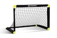 Schildkröt Funsports voetbaldoel 90 x 60 cm zwart/geel