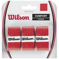 Wilson Profile Overgrip Verpakking 3 Stuks