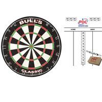 Bull's Dartbord Bulls The Classic 45 cm met scorebord met marker en wisser 45x30 cm -