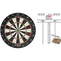 Shot Dartbord Rogue Bristle 45 cm met scorebord met marker en wisser 45x30 cm -