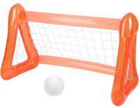 Sunnylife voetbaldoel Inflatable Games 140 x 65 cm oranje