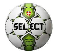 Select Voetbal Solo Soft Indoor Wit groen maat 4