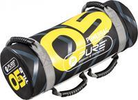 Pure2Improve powerbag 5 kg 53 x 22 cm nylon zwart/geel