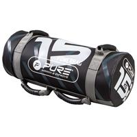 Pure2Improve powerbag 15 kg 53 x 22 cm nylon zwart/grijs
