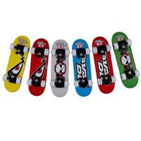 No Fear Skateboard - 43,2 X 12,7 Cm - Junior - Hout - 6 Varianten