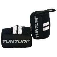 Tunturi Wrist Wraps - Zwart/wit