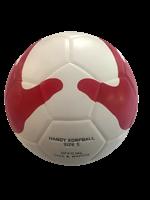 Gameballs Korfbal Handjes Wit rood maat 5