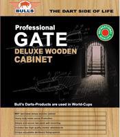 Bull's Deluxe zwart houten kabinet
