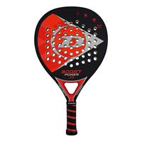 Dunlop boost power 2.0 padelracket zwart/rood heren