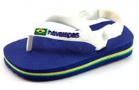Stoute-schoenen.nl Havaianas slippers Baby Brasil logo Blauw HAV49