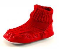 Stoute-schoenen.nl Bardossa sokpantoffels Rood BAR02