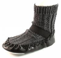 Stoute-schoenen.nl Bardossa sokpantoffels Grijs BAR03