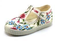 Stoute-schoenen.nl Cienta 51023 t-band bloem Offwhite CIE11